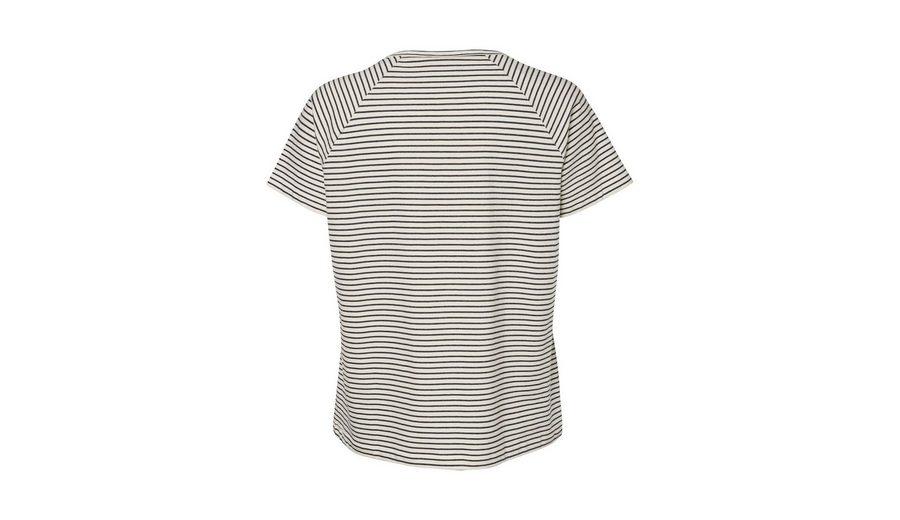 JUNAROSE Gestreiftes Kurzarmhemd Billig Verkauf Erschwinglich Günstig Kaufen bsqUcGN