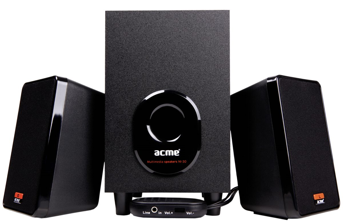 ACME Europe PC-Lautsprecher »ACME NI30 2.1 Speaker system«