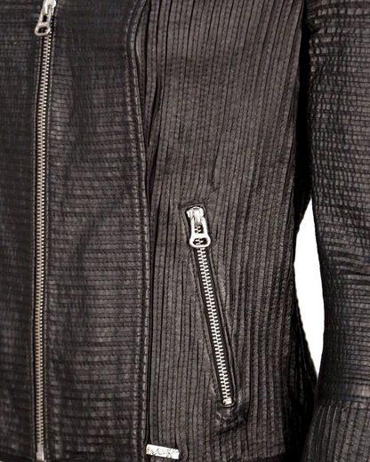 MAZE Lederjacke aus Premium-Stretch-Leder Constanta