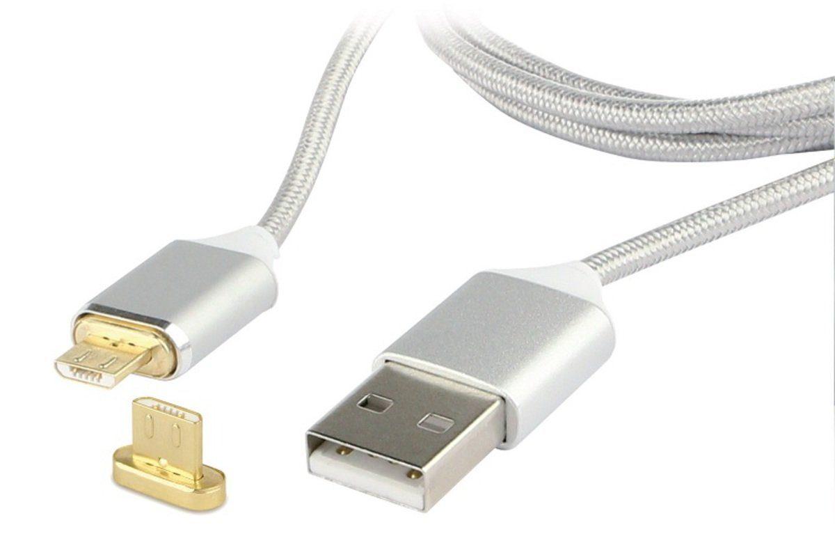 Fontastic Zubehör »Datenkabel Magnet, Micro-USB 1m, Textil«