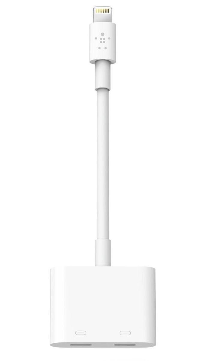 Belkin Adapter »RockStar Lightning-Audio und Ladeadapter«