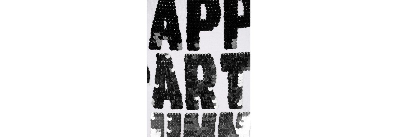 Sast Online Amy Vermont Shirt mit Paillettenschriftzug 100% Ig Garantiert Günstig Online Für Billigen Rabatt Günstig Kaufen Amazon Spielraum Extrem 38EC10HiVP