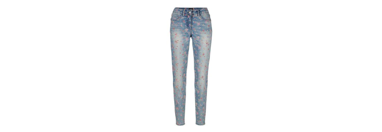 Amy Vermont Jeans mit Blütendruck Verkauf Beste Geschäft Zu Erhalten Rabatt Shop-Angebot In Deutschland Verkauf Online Für Schön Genießen q0F1V3D