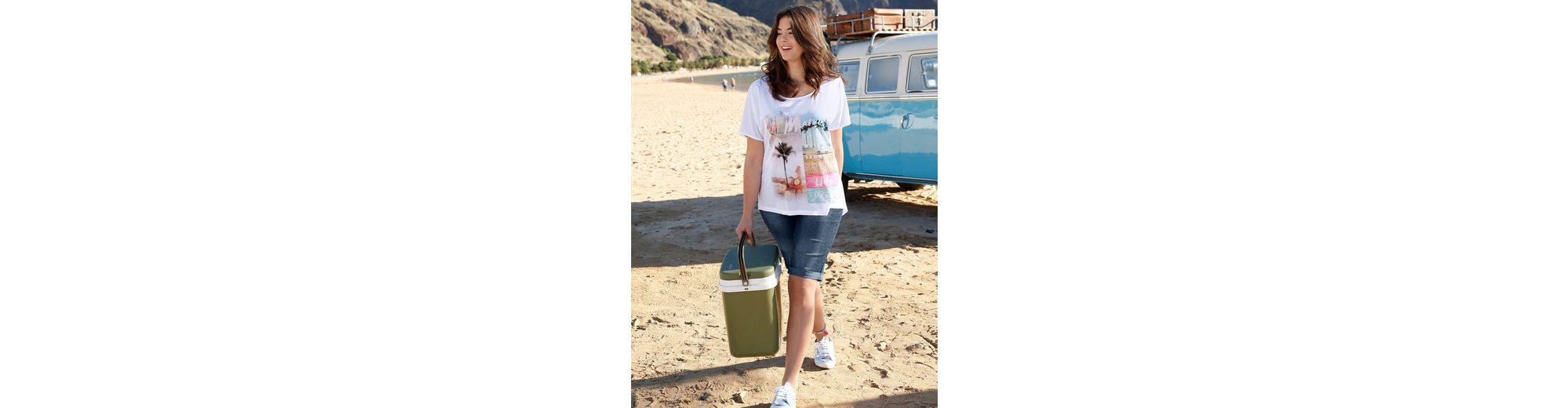 Angel of Style by Happy Size Vokuhila-Shirt in Oversize-Form Zuverlässige Online-Verkauf nWSESeUo