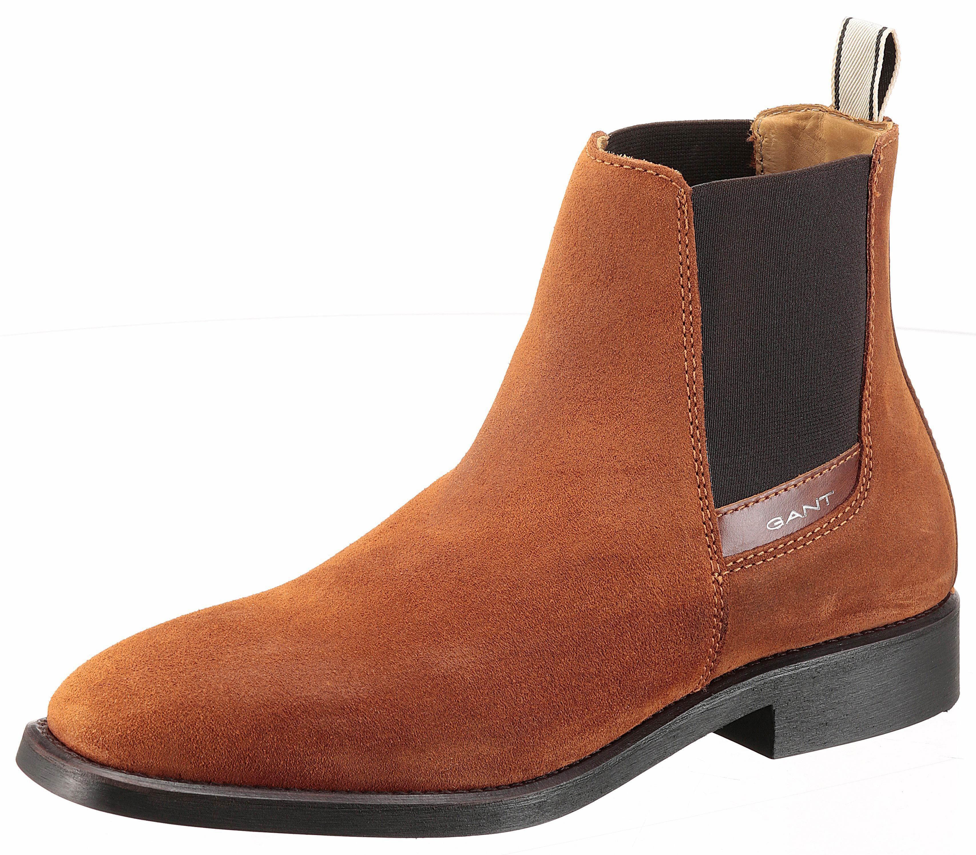 Gant Footwear James Chelseaboots, mit seitlichen Stretcheinsätzen online kaufen  cognac
