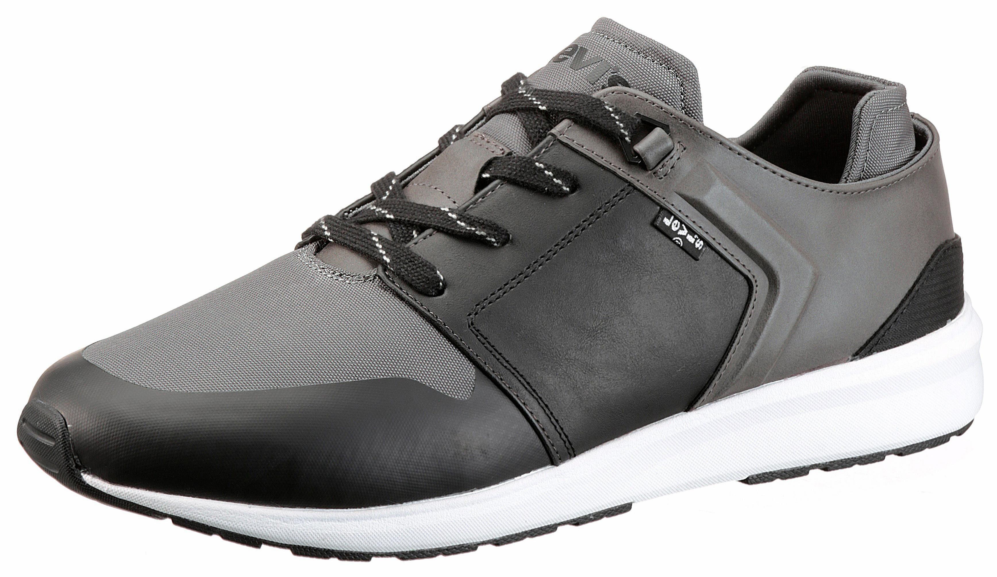 Levi's® Black Tab Runner Sneaker, mit herausnehmbarer Innensohle online kaufen  grau-schwarz
