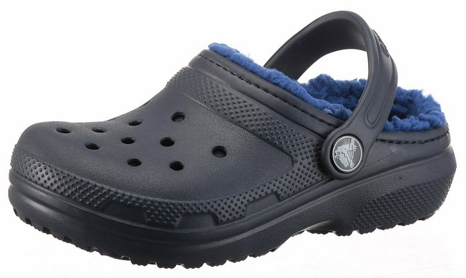 promo code fdff7 1a16b Crocs »Classic Lined Clog K« Clog mit Warmfutter   OTTO