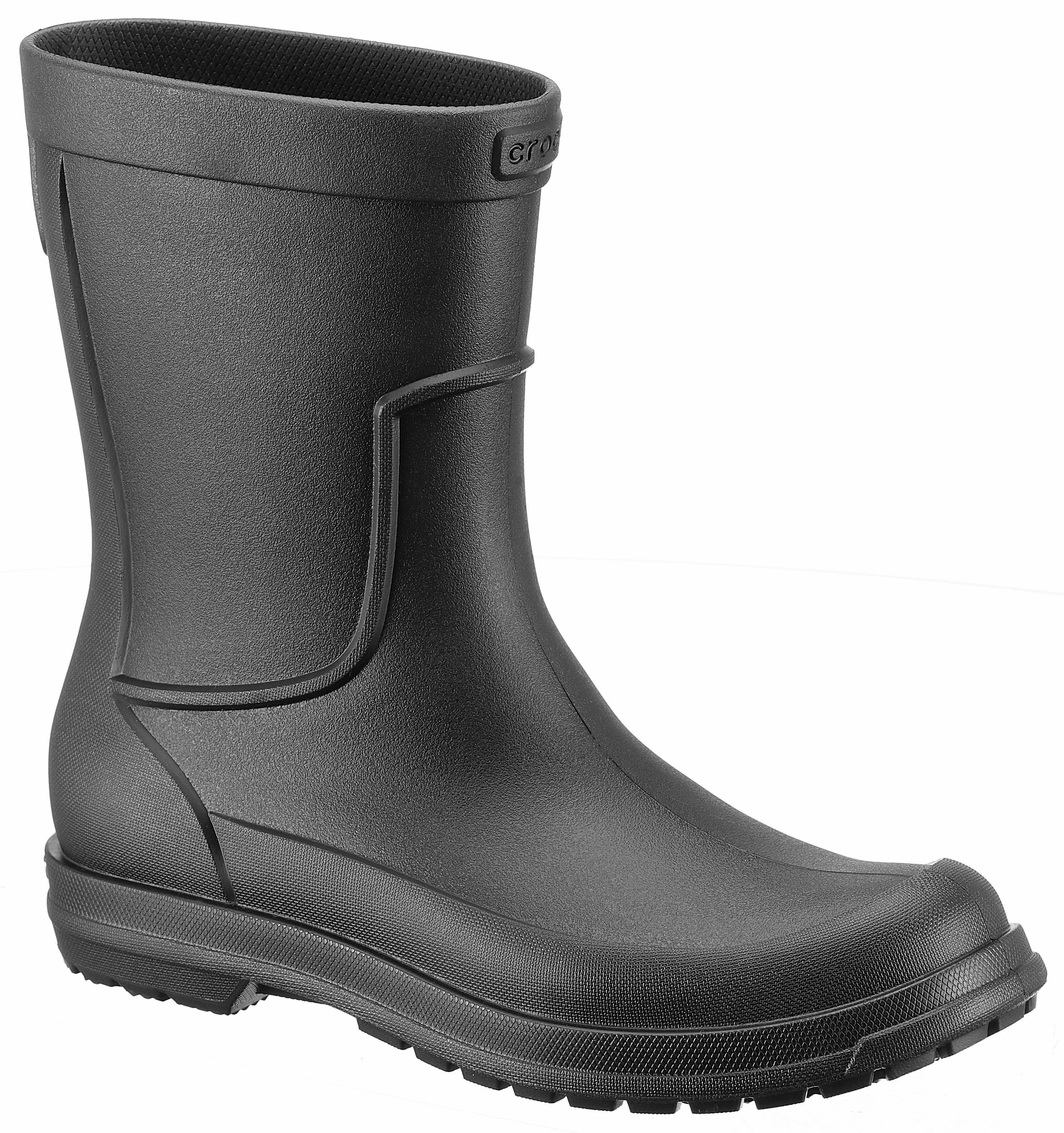 Crocs All Cast Rain Boot M Gummistiefel, mit Profillaufsohle online kaufen  schwarz