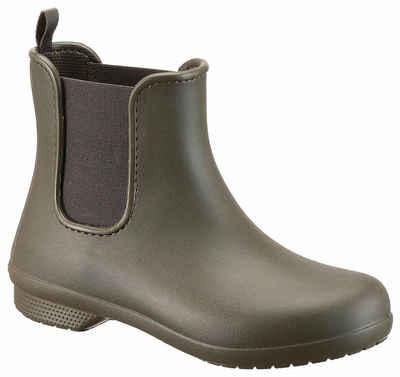 Crocs »Freesail Chelsea Boot W« Gummistiefel mit praktischem Stretcheinsatz 4cd8fee058
