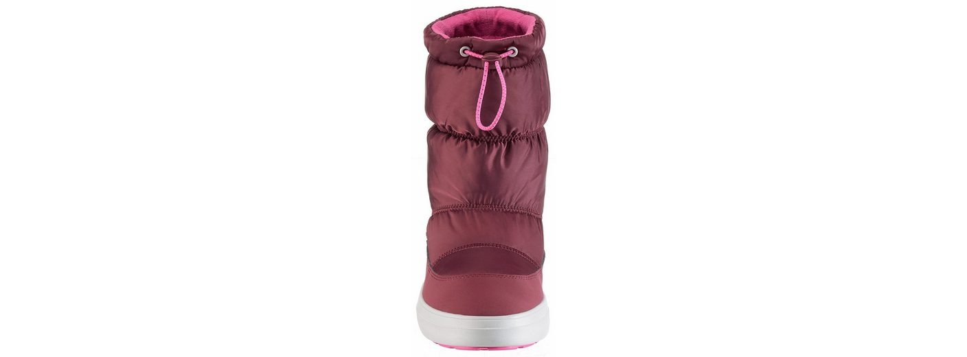 Crocs Lodge Point Shiny Pull-On W Winterstiefel, mit praktischem Schnellverschluss