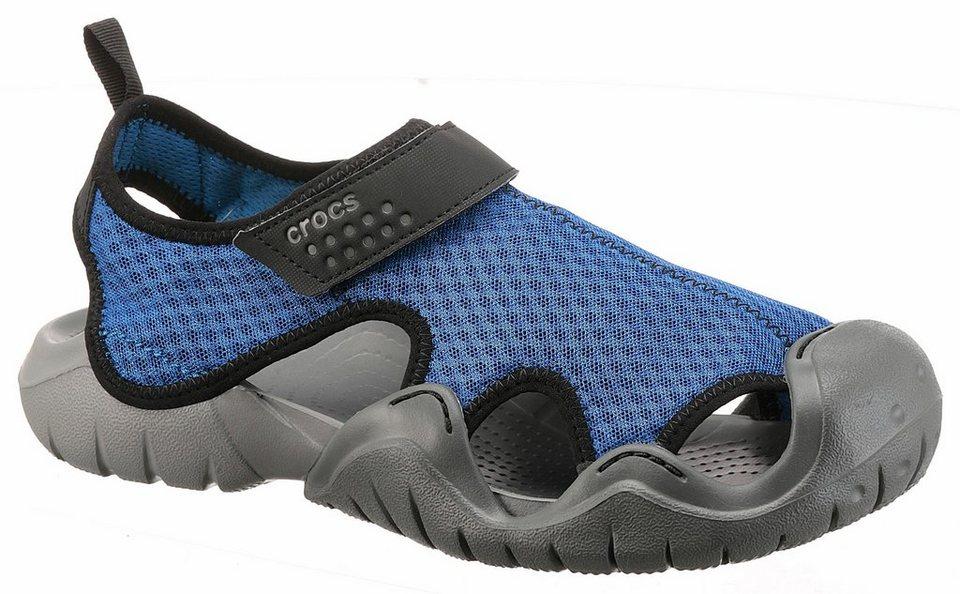 crocs swiftwater sandal m sandale mit klettverschluss online kaufen otto. Black Bedroom Furniture Sets. Home Design Ideas