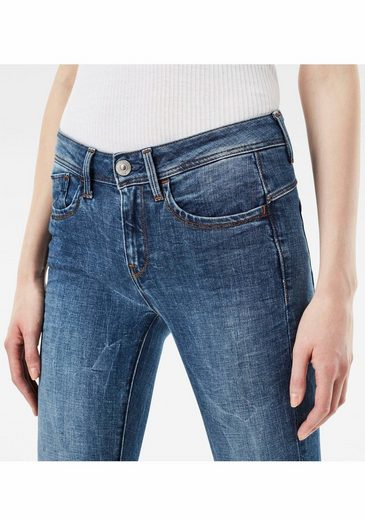 G-star Raw Skinny-fit-jeans Lynn D-mid Super Skinny, Mit Stretch
