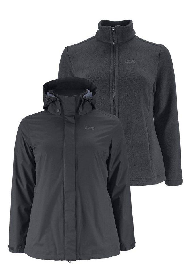 jack wolfskin 3 in 1 funktionsjacke 3in1 ross ice jacket. Black Bedroom Furniture Sets. Home Design Ideas