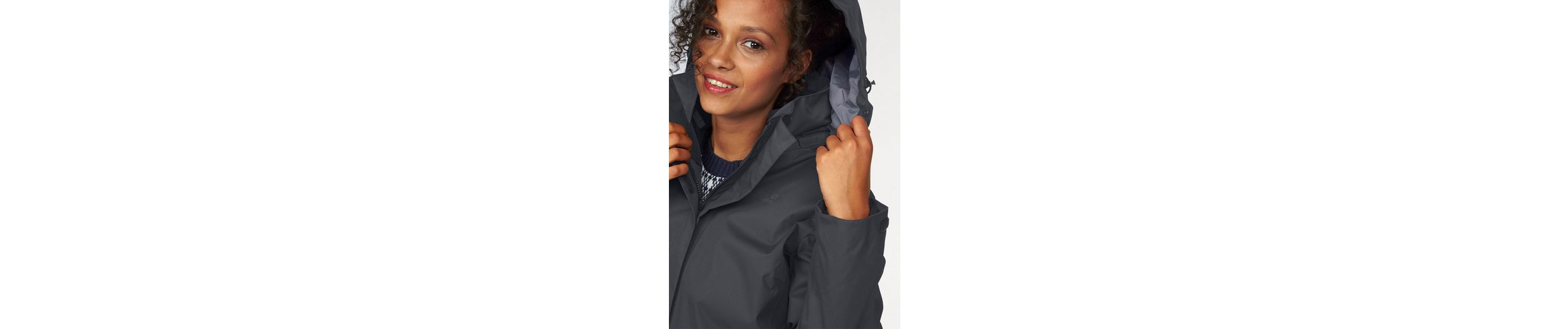 Jack Wolfskin 3-in-1-Funktionsjacke 3in1 ROSS ICE JACKET (Set, 2 tlg), aus wasser- & winddichtem Obermaterial