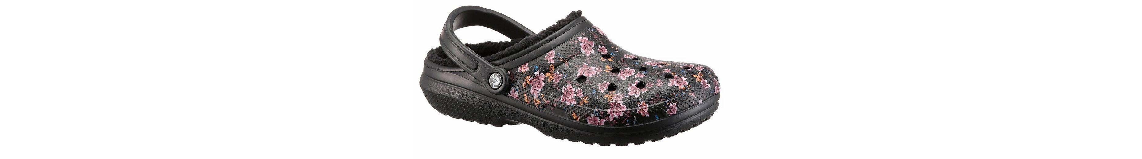 Crocs Classic Lined Graphic Clog Clog, mit Warmfutter
