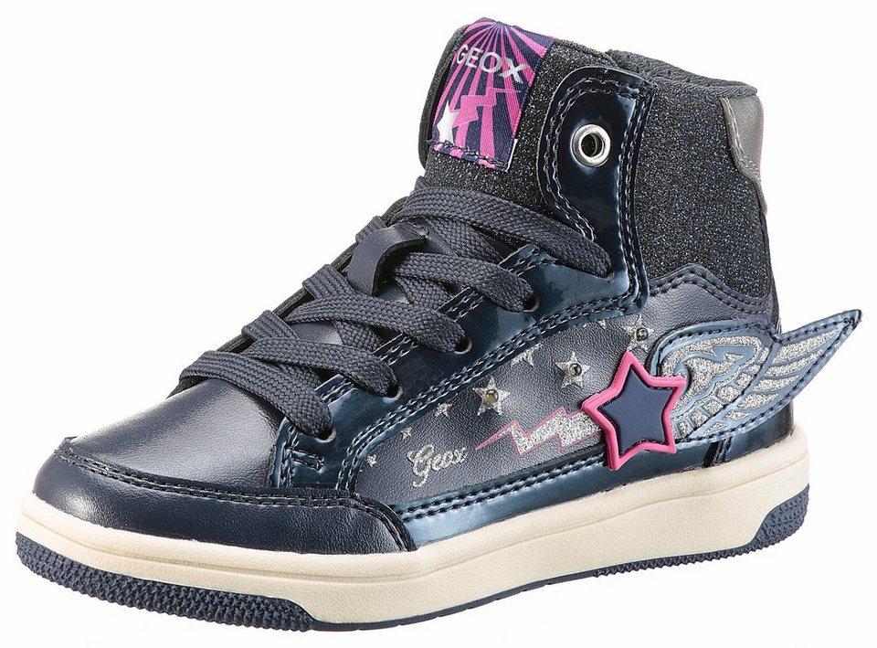 1ec4bb621f09b3 Geox Kids »Creamy« Sneaker mit Blinkfunktion und Innenreißverschluss ...