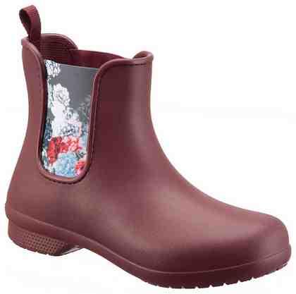 Crocs »Freesail Chelsea Boot W« Gummistiefel, mit praktischem Stretcheinsatz