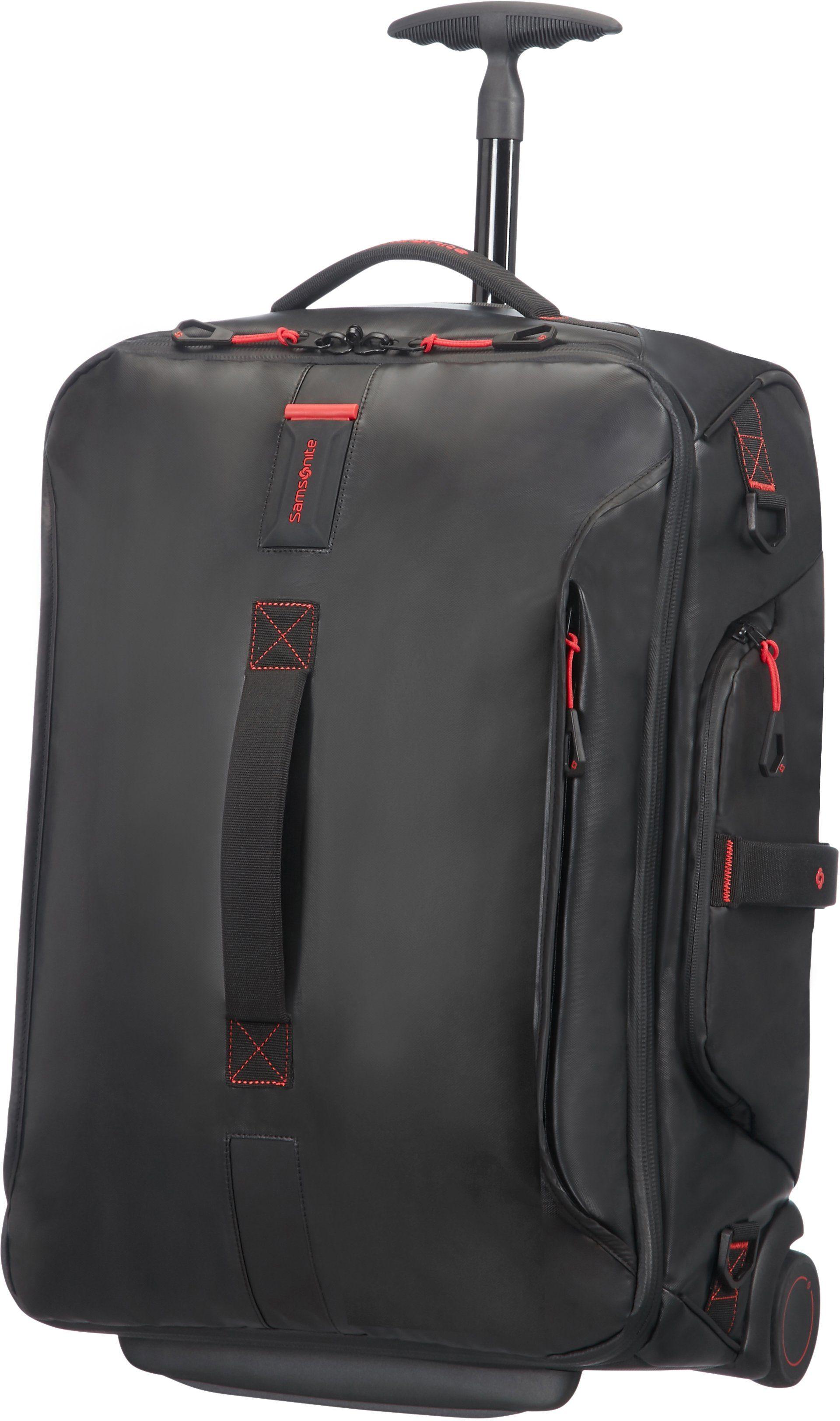 Samsonite Reisetasche mit 2 Rollen, Trolley und Rucksackfunktion, »Paradiver Light«