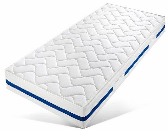 Komfortschaummatratze »Memory Pur«, Breckle, 24 cm hoch, Raumgewicht: 28, Optimale Körperanpassung – 2-Schicht-Konstruktion