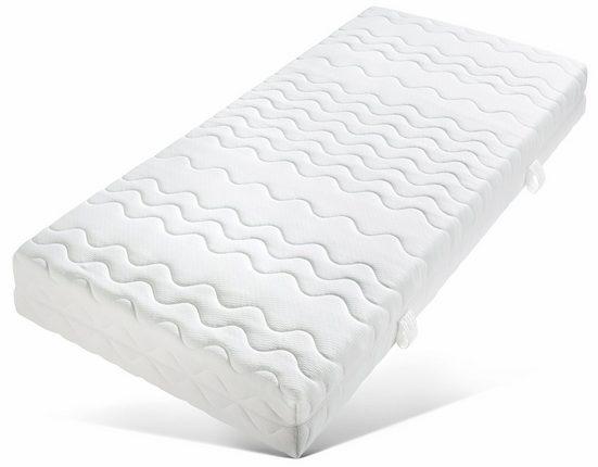 Taschenfederkernmatratze »Luxus«, Breckle, 21 cm hoch, 530 Federn, Schlafgenuss ohne Einschränkung