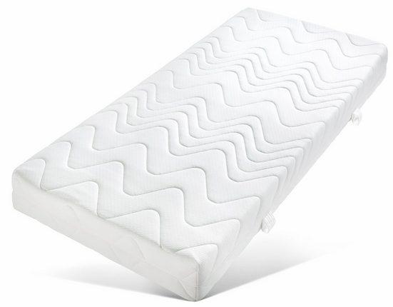 Taschenfederkernmatratze »Komfort«, Breckle, 19 cm hoch, 420 Federn, 7-Zonen Taschenfederkernmatratze, sehr gutes Preisleistungsverhältnis - Qualität zum Spitzenpreis, Made in Germany