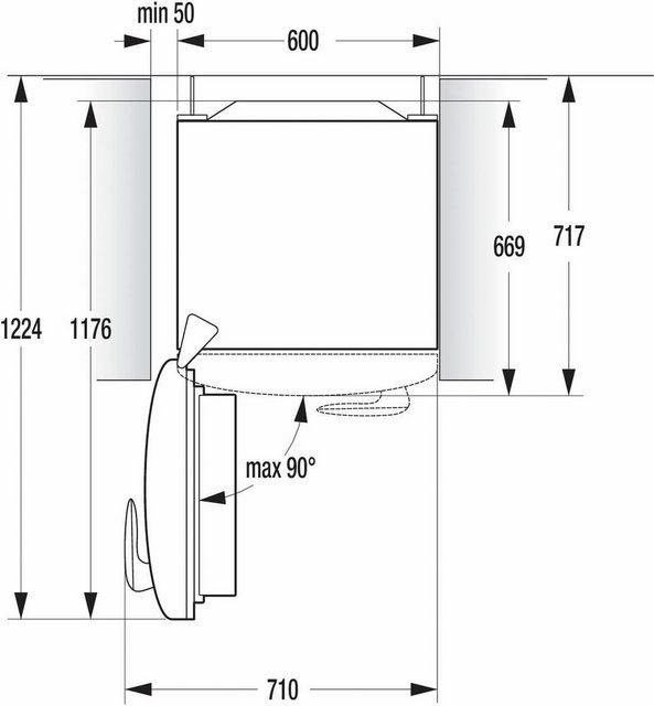 GORENJE Kühlschrank ORB153C-L, 154 cm hoch, 60 cm breit, 154 cm hoch, 60 cm breit