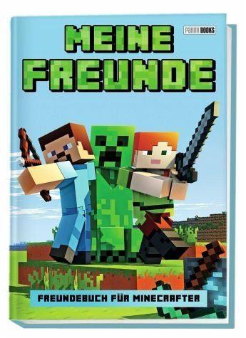 Gebundenes Buch »Meine Freunde - Freundebuch für Minecrafter«