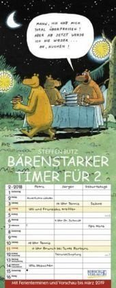 Kalender »Bärenstarker Timer für 2 2019«