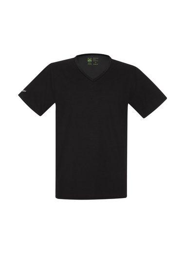 TRIGEMA V-Shirt aus 100% Biobaumwolle