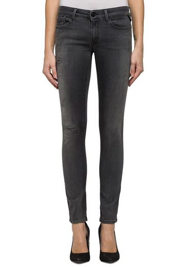REPLAY Jeans LUZ HYPERFLEX BROKEN & REPAIR