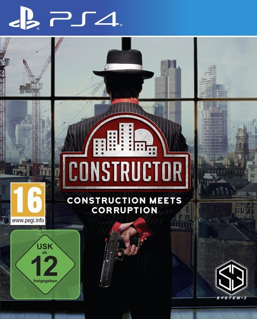 Koch Media Playstation 4 - Spiel »Constructor«