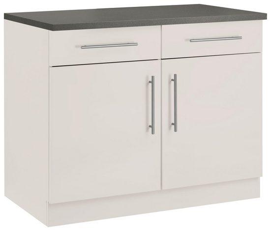 wiho Küchen Unterschrank »Cali« 100 cm breit