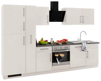 Miniküche Mit Kühlschrank Und Herd 120 Cm : Küchenzeile mit geräten kaufen » küchenblöcke otto