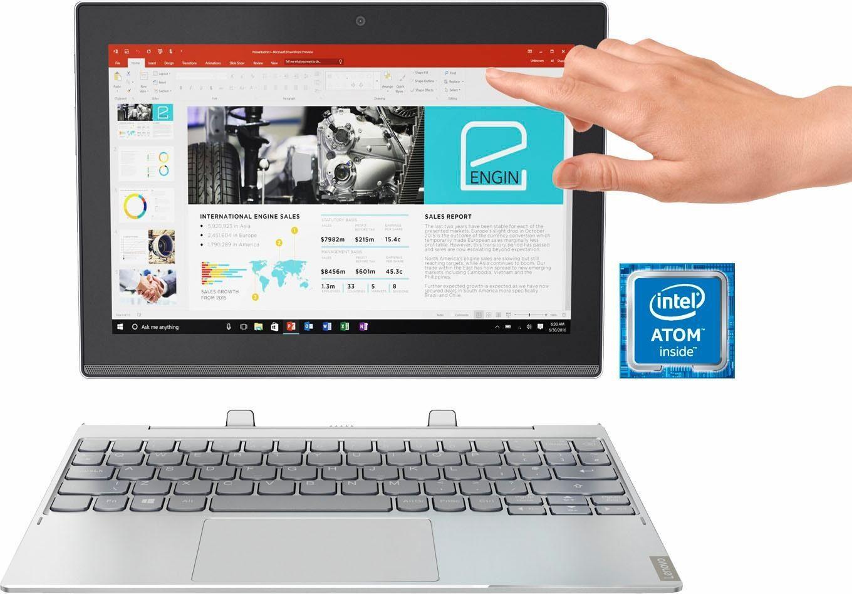 Lenovo Miix 320 80XF0019GE Convertible Notebook (25,7 cm/10,1 Zoll, Intel Atom, HD Graphics, 64 GB SSD)
