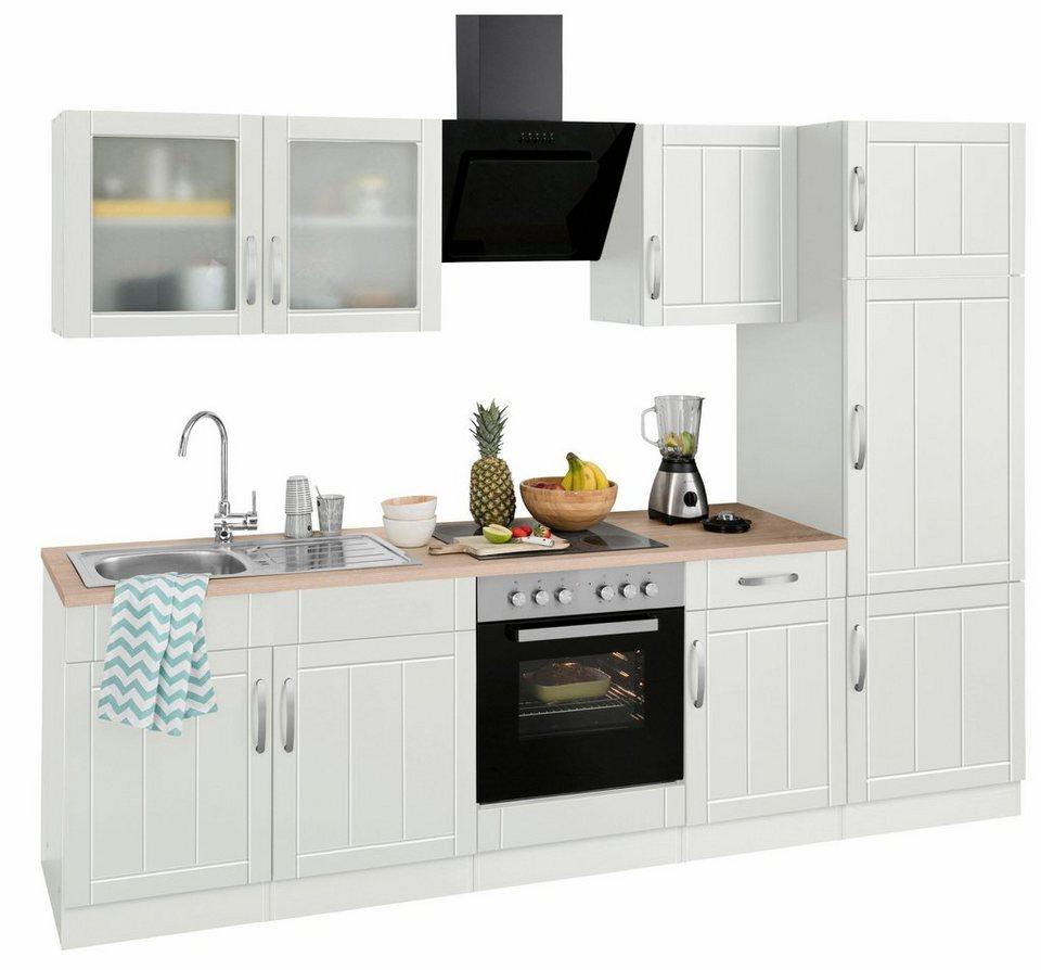 HELD MÖBEL Küchenzeile ohne E Geräte Lund , Breite 270 cm online kaufen OTTO