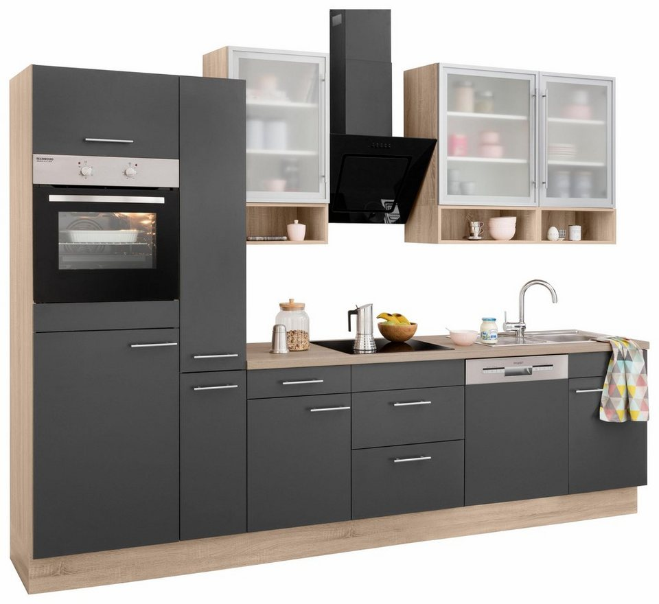 optifit k chenzeile ohne e ger te aue breite 310 cm online kaufen otto. Black Bedroom Furniture Sets. Home Design Ideas