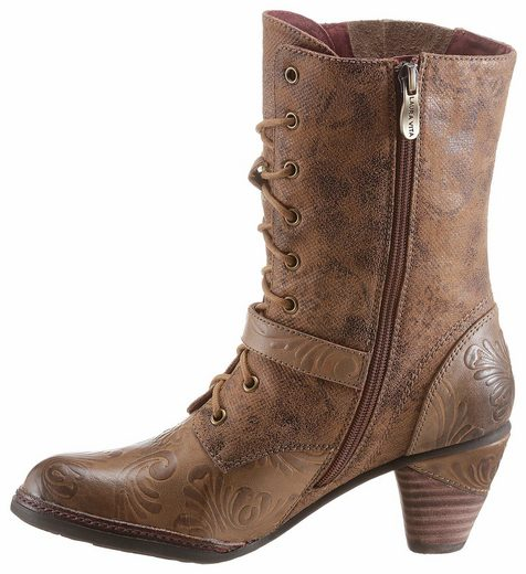 Laura Alizee Vita Ankle Boot, With Fashionable Decorative Zipper