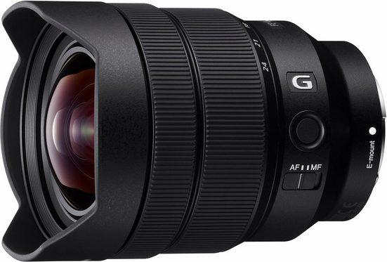Sony »SEL-1224G E-Mount Ultra-Weitwinkel G« Objektiv, (E 12-24mm F4, OSS, APS-C)