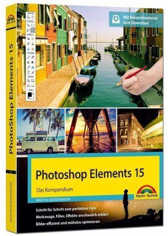 Gebundenes Buch »Photoshop Elements 15 - Das große Kompendium...«