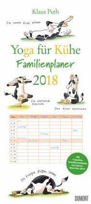 Kalender »Yoga für Kühe Familienkalender 2018«