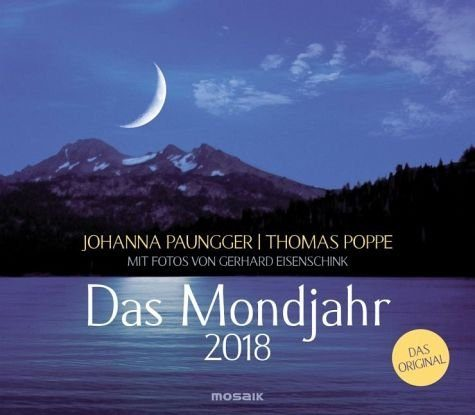 Kalender »Das Mondjahr 2018. Wandkalender«
