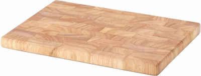 Continenta Schneidebrett, Stirnholz, in hochwertiger Handarbeit hergestellt
