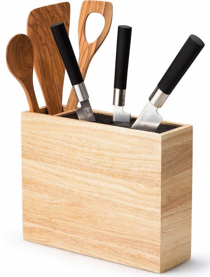 continenta messerblock flexibler einsatz hartholz utensilienbeh lter online kaufen otto. Black Bedroom Furniture Sets. Home Design Ideas