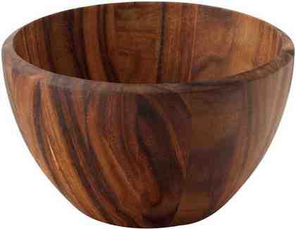 Continenta Schüssel, Holz, augewähltes Hartholz der Akazie