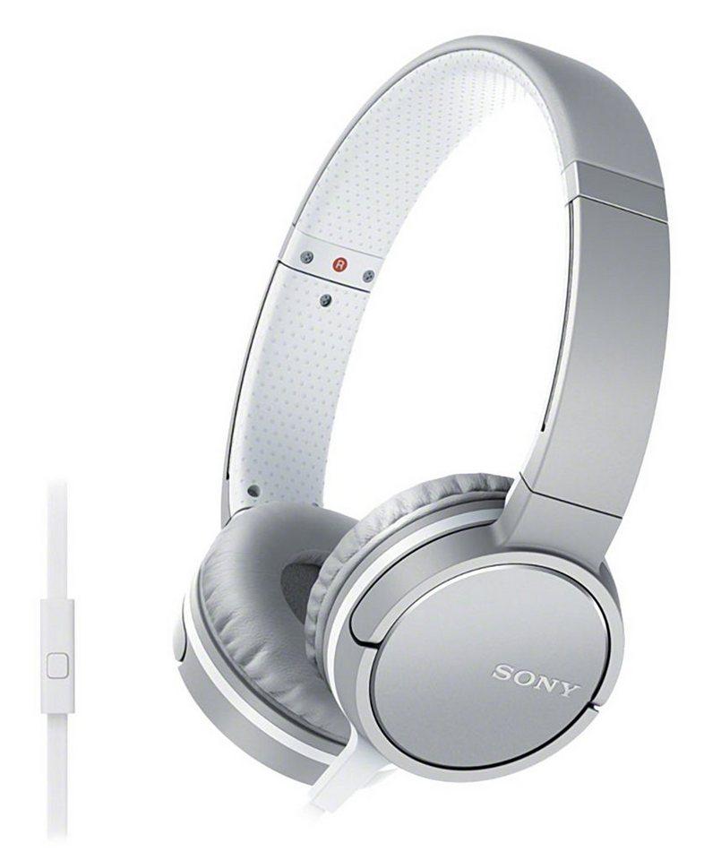 Sony Over-Ear Kopfhörer mit Headsetfunktion & In-Line-Remote »MDR ...