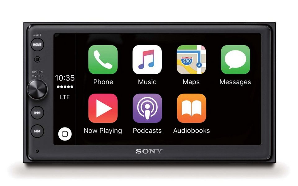 Sony 2-DIN Media Receiver mit Bluetooth, Apple CarPlay & AndroidAuto ...