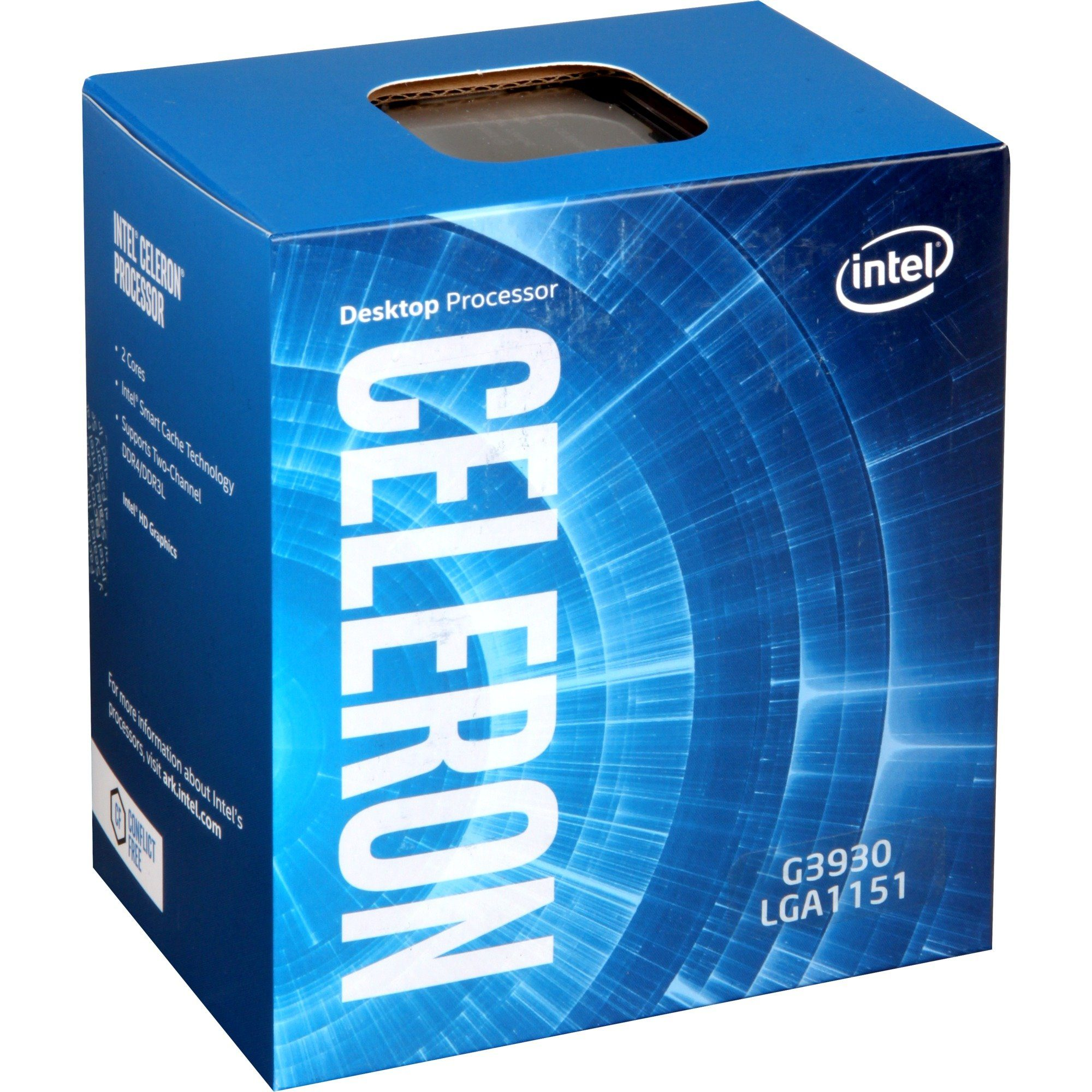 Intel® Prozessor »Celeron G3930«