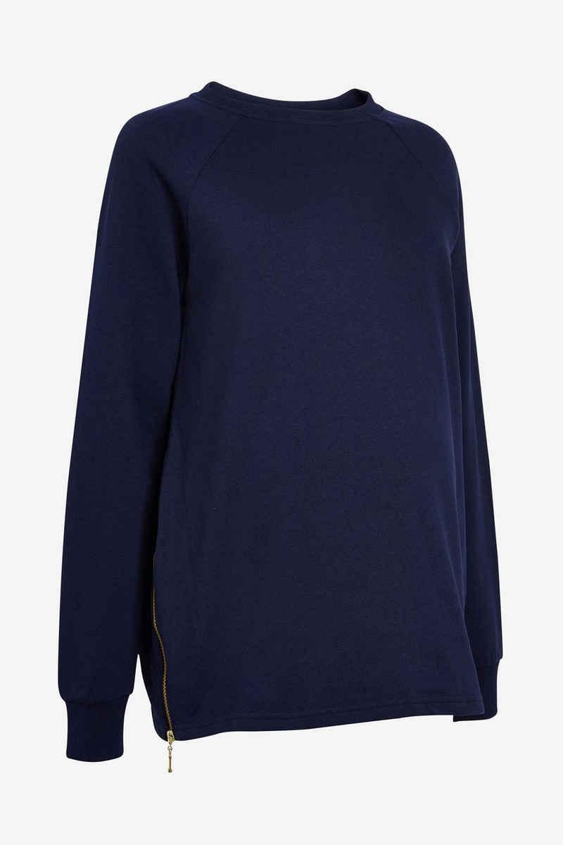 Next Umstandssweatshirt »Umstandsmode Hoodie mit seitlichem Reißverschluss« (1-tlg)