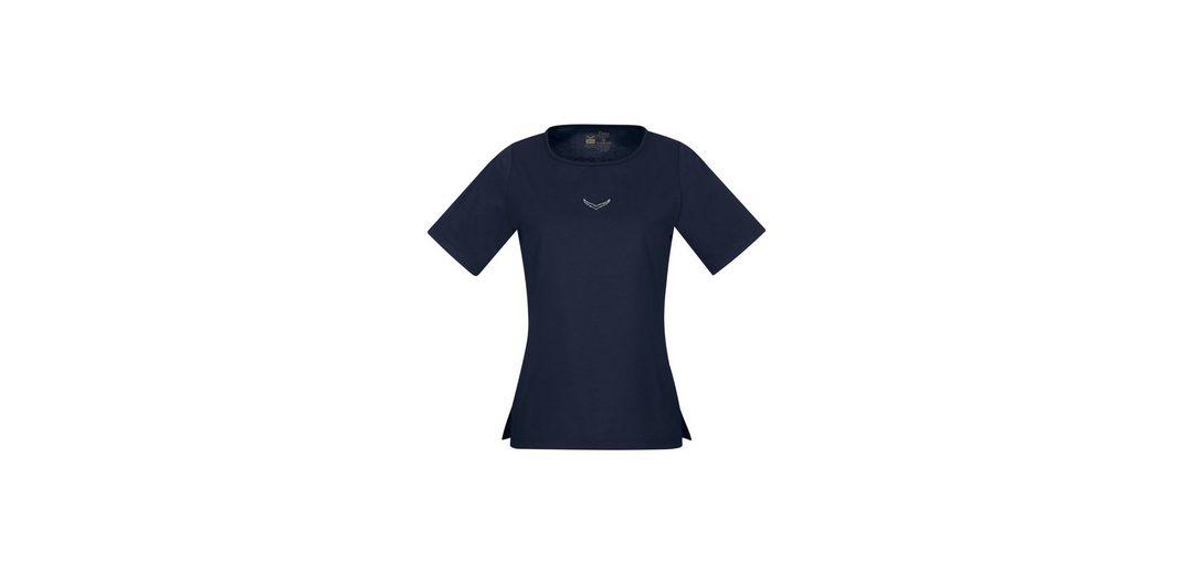 TRIGEMA T DELUXE Baumwolle Shirt Baumwolle DELUXE TRIGEMA mit T Swarovski mit Shirt AArwSO8q