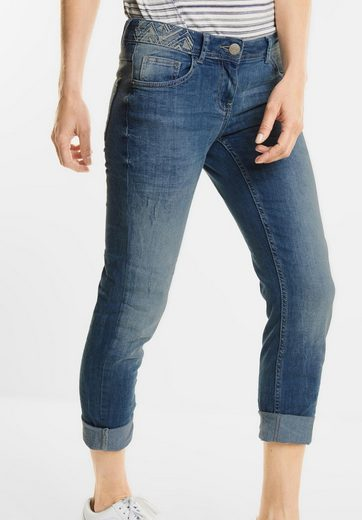CECIL 7/8-Used Denim Charlize